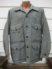 VTG DAYS Wool Ranger Cruiser Jacket Rare color flecked tweed 50s 60s Coat Nice!