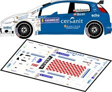 DECALS 1/43 FIAT GRANDE PUNTO ABARTH #6  SOLOWOW - RALLYE BARBORKA 2007 - D43152