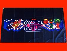 Crystal Castles Arcade Video Game Banner Flag Poster FREE SHIPPING