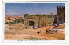 Bab Mahrog - Art Postcard c1910 / Morocco