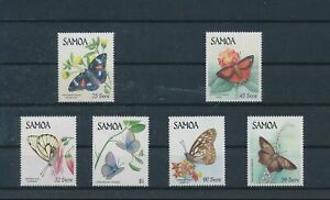 LO44330 Samoa insects bugs flora butterflies fine lot MNH