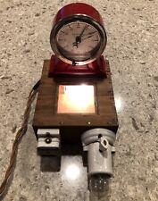 Vintage Kodak Eastman Red Timer Clock Photograph Dark Room Film Development Box