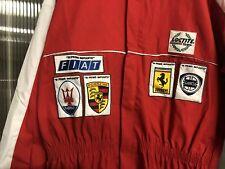 Tuta Da Meccanico Ferrari Porsche Auto Epoca Pubblicitaria Lancia Fiat
