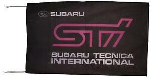 SUBARU-FLAG STI BANNER LANDSCAPE 5 X 3 FT 150 X 90 CM