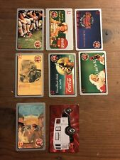 LOT OF (8) 1995 DIFFERENT COCA-COLA SPRINT PHONE CARDS