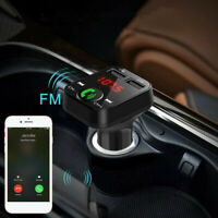 In-Car Bluetooth FM Transmitter Radio MP3 Wireless Adapter Car Kit  USB Charger