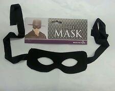 Thief Mask Burglar Bandit Pirate Party Costume Accessory
