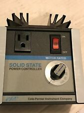 Cole-Parmer 02604-00 Solid State AC Voltage Controller - New Surplus