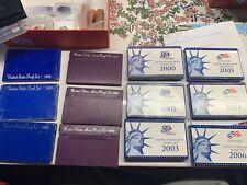US Mint Proof Set Lot! 2000, 2002 - 2006, 1989, 1991, 1993, 1968-69, 1983
