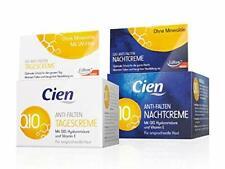 Lot de 2 Crème Acide Hyaluronique Jour Nuit Anti-Age Anti Rides Q10.pot 50 ml x2