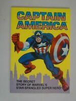 Captain America The Secret Story... TPB SC 8.0 VF (1981 Ideal)