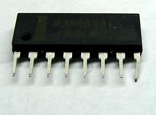 NJM4558L bajo nivel de ruido Dual OP-AMP IC - 8 Pin SIP