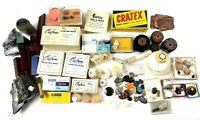Lot Jewelry Making Supplies Wax Abrasives Cratex Ferris Craftwax Sterling Agate