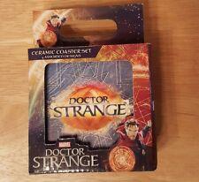 NEW Marvel Doctor Strange Ceramic Coaster Set -  4x4, 4 pack