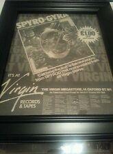 Spyro Gyra Catching The Sun Rare Original Classic Uk Promo Poster Ad Framed!
