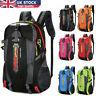 40L Large Travel Outdoor Hiking Backpack Waterproof Luggage Bag Rucksack Camping