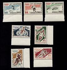 OPC 1960 Togo Olympics Margin Set Sc#369-375 MNH