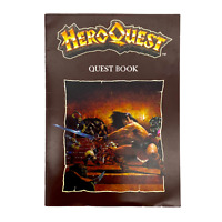 HeroQuest Quest Book (The Maze) RPG Fantasy Dungeon Crawl - Very Good Condition