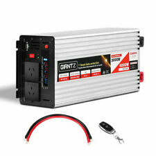 Giantz INVERT-P3000W-SL 3000W Puresine Wave DC-AC Power Inverter