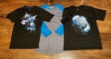 Boy's UNDER ARMOUR Football sports life Tek Sarter shirt top LOT L 12/14 large