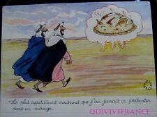 MN141 - MENU HUMORISTIQUE CUISINE ARABE - JEAN BELLUS