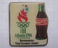 COCA-COLA / OLYMPISCHE SPIELE ATLANTA 1996 BOTTLE  ... Pin (145i)