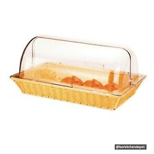 Extra Large Bread Basket with Acrylic Cover