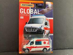 Matchbox Renault Master Ambulance 13/14 HCL41-956B 1/64