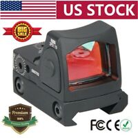 Tactical RMR 3.25 MOA Dot Reflex Red Sight Adjustable Scope 45mm With Parts Set