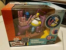 The Simpsons Ironic Punishment Deluxe Box Set Homer Episode 1F04 McFarlane Toys