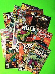 READER LOT 12 BRONZ-MODERN COMICS, MARVEL,DC,IMAGE, VG-3.5, COMBINED SHIPPING