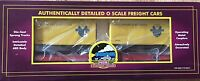 MTH 20-98108 DELAWARE & HUDSON FLATCAR WITH 20' TRAILERS