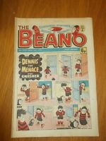 BEANO #1912 10TH MARCH 1979 BRITISH WEEKLY DC THOMSON COMIC