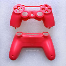 CUSTOM RED PLAYSTATION 4 CONTROLLER HOUSING SHELL - PS4 MOD KIT