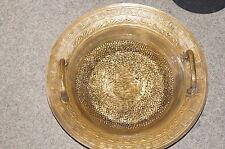 Wasserspringschale / Wasserklangschale / Glücksbecken / water spring bowl golden