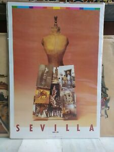 1988 Cartel Original Exposición Universal Sevilla 1992 Expo 92 Daniel Gil Pila 6
