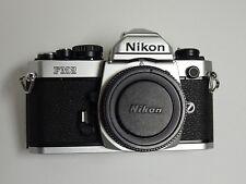 Nikon FM2N 35mm SLR Film Camera Body near MINT! NO RESERVE AUCTION!