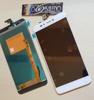 DISPLAY LCD+TOUCH SCREEN PER WIKO MOBILE UPULSE LITE VETRO NUOVO U-PULSE BIANCO