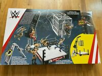 WWE Crash Cage Playset with 6 Inch Kevin Owens Figure