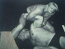 magazine picture wrestling 1961 - buddy rogers johnny valentine madison square g