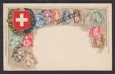 Zieher #7 unused PPC. Stamps of Switzerland, Flat