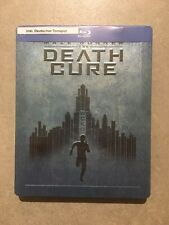 Maze Runner Teil 3 Death Cure Steelbook - Neu & OVP Deutscher Ton Blu Ray