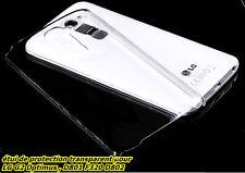 LG G2 OPTIMUS TRANSPARENTE D802 F320 D802 COQUE ÉTUI COVER/CRYSTAL CASE, HOUSSE