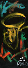 Tuba for Two by Listed American Artist EJ GOLD