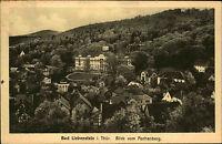 Bad Liebenstein Thüringen Postkarte 1925 Teilansicht Blick vom Aschenberg Wald