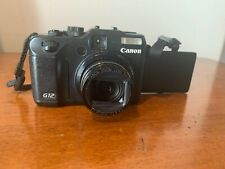 Canon PowerShot G15 12.1MP Digital Camera - Black - Used -needs replacement lens