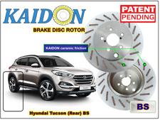 """Hyundai Tucson brake disc rotor KAIDON (Rear) type """"BS"""" / """"RS"""" spec"""