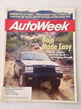 Autoweek Magazine Baja Made Easy Jeeps Ford F-250 March 9, 1998 020617RH