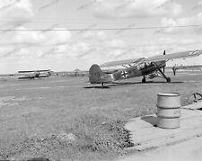 Fieseler Fi 156 Storch-Flugzeug-Wehrmacht-Luftwaffe-Feldflugplatz-