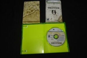 The Elder Scrolls IV: Oblivion COMPLETE - Microsof Xbox 360 - w/ Map & Manual